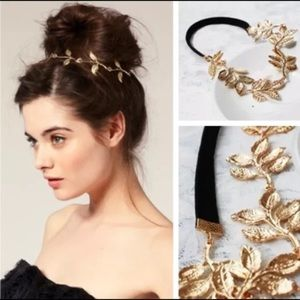 Accessories - Gold Flower Vine Headband or Necklace!
